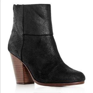 Rag & bone classic black suede newbury boots 6.5